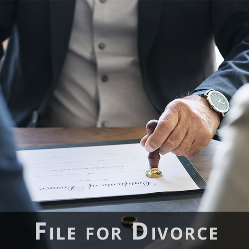 Divorce Filing Preparation
